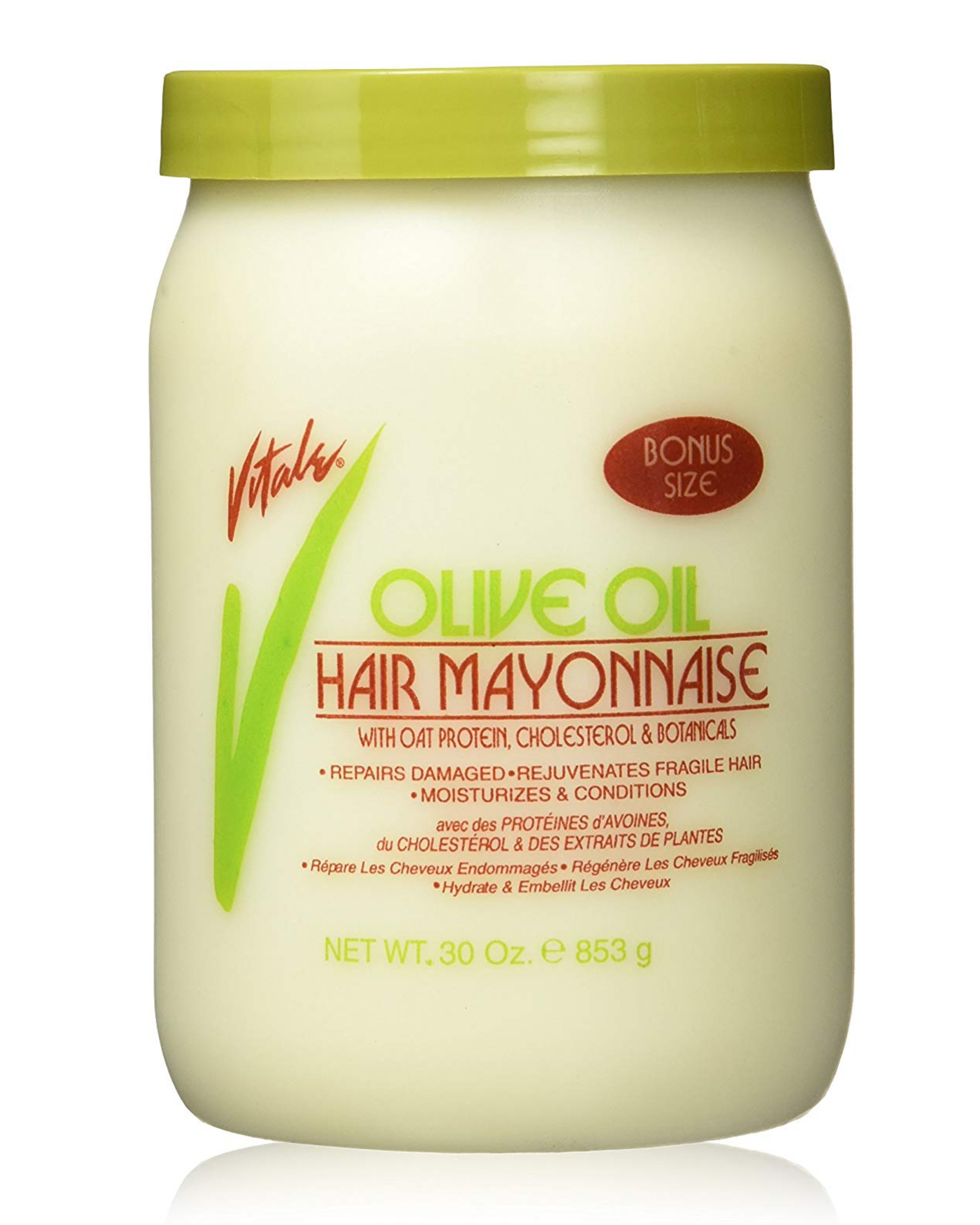 vitale olive oil hair mayonnaise 30oz (bonus size)